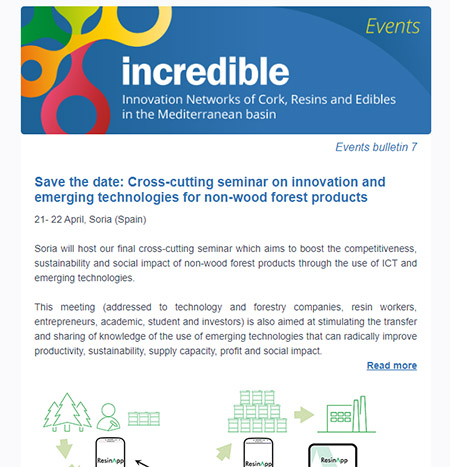INCREDIBLE Project events bulletin 7 Cesefor