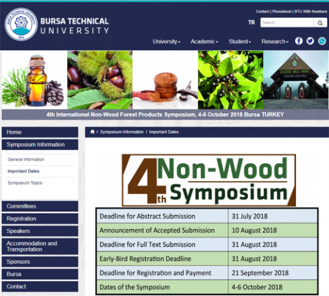 events, Turkey, forest, Bursa, non wood forest products, sustainability, industrial ecology, green production, green chemistry